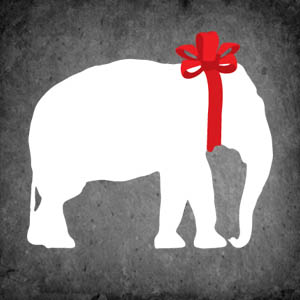 Discover the Gift You'll Never Want to Exchange | West ... White Elephant Christmas
